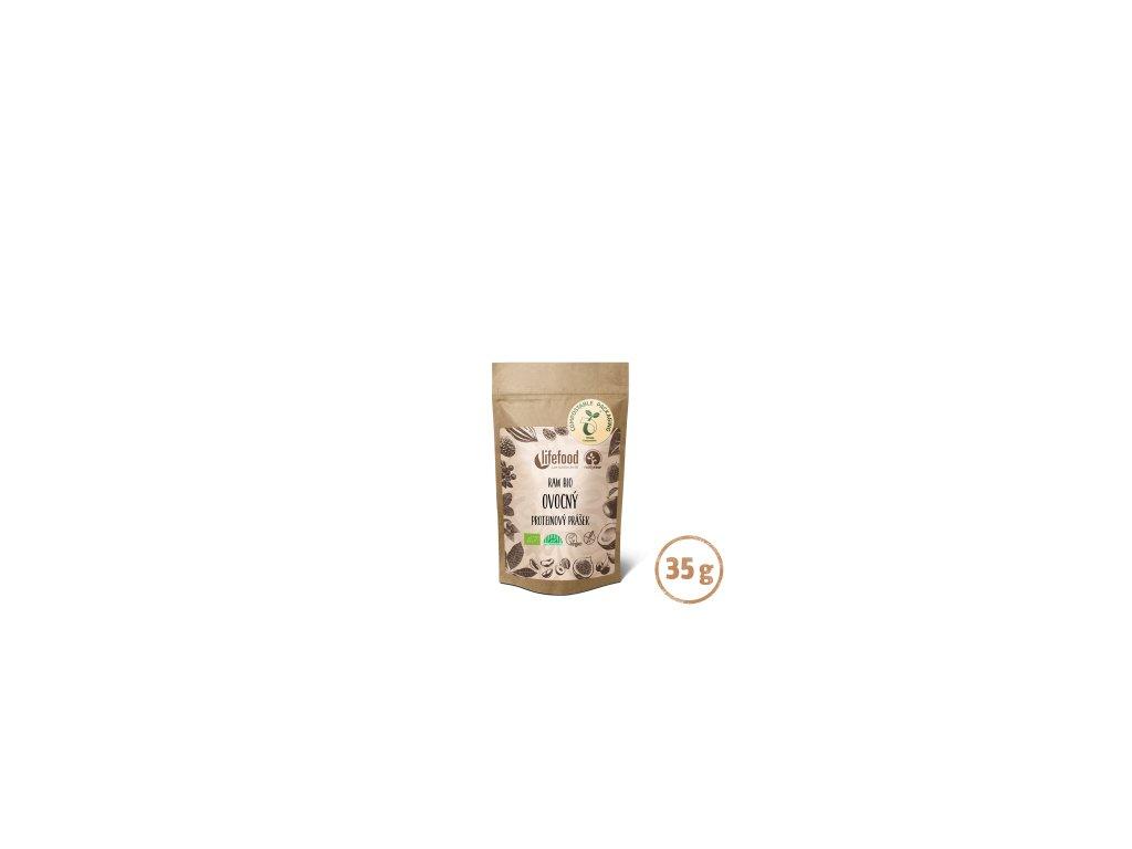 RAW PROTEIN BIO ovocný 35 g LIFEFOOD