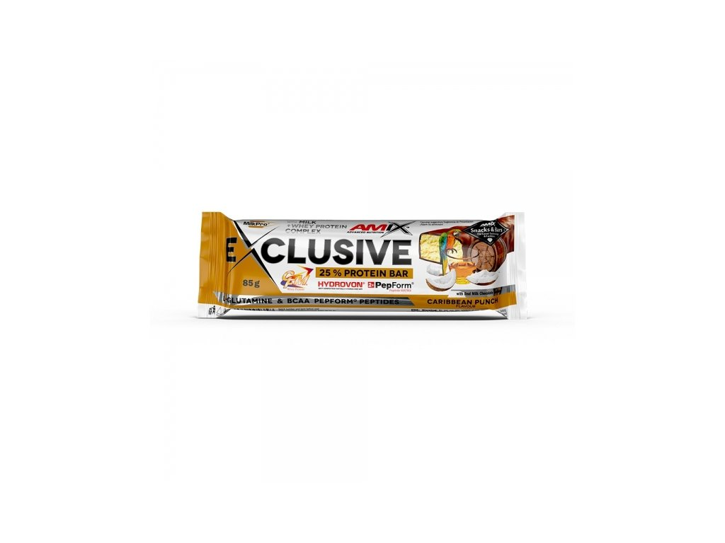 Exclusive Protein bar Caribbean Punch 85 g
