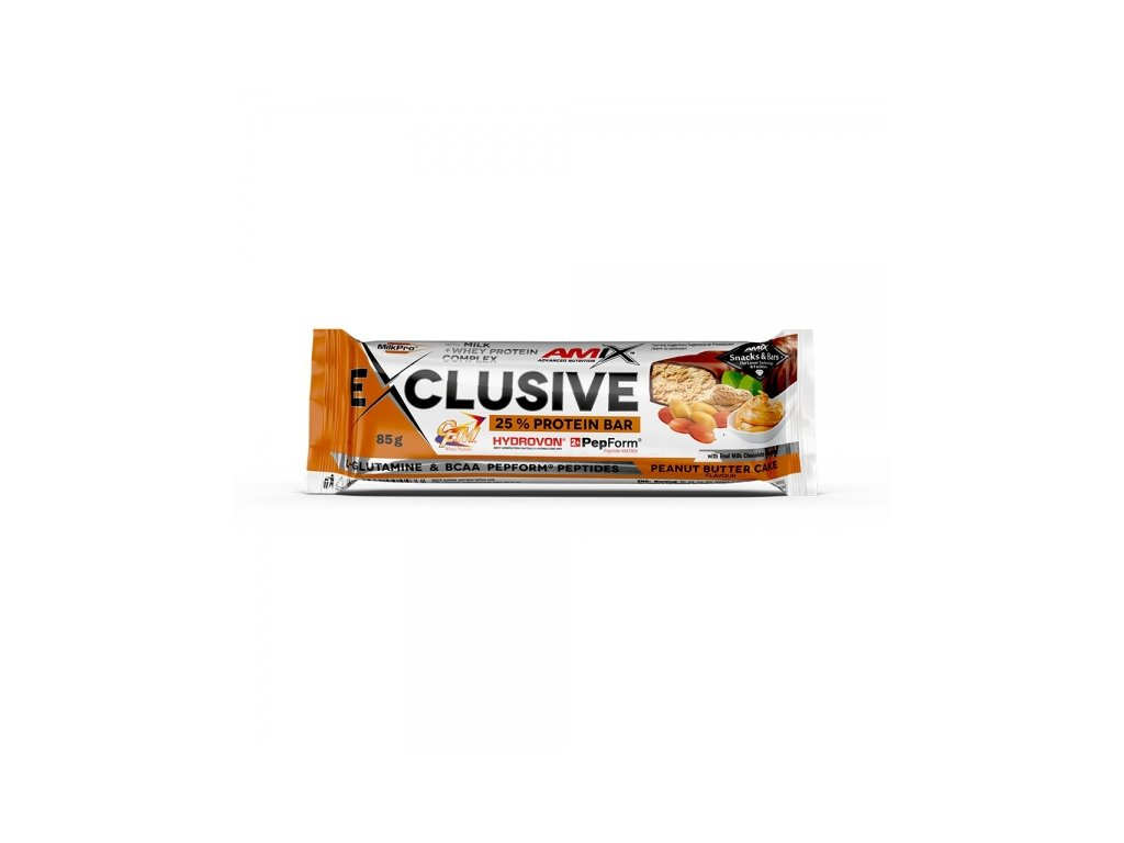 Exclusive Protein bar Peanut Butter Cake 85 g
