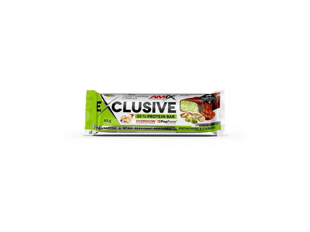 Exclusive Protein bar Pistácie-Karamel 85 g