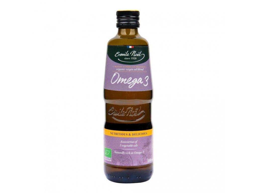 Olej omega 3 EMILE NOËL BIO 500 ml