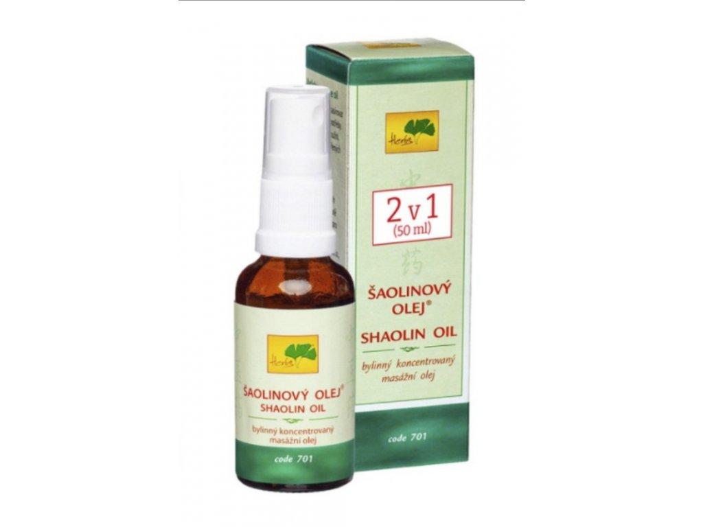 700 Shaolinový olej 50 ml TCM Herbs