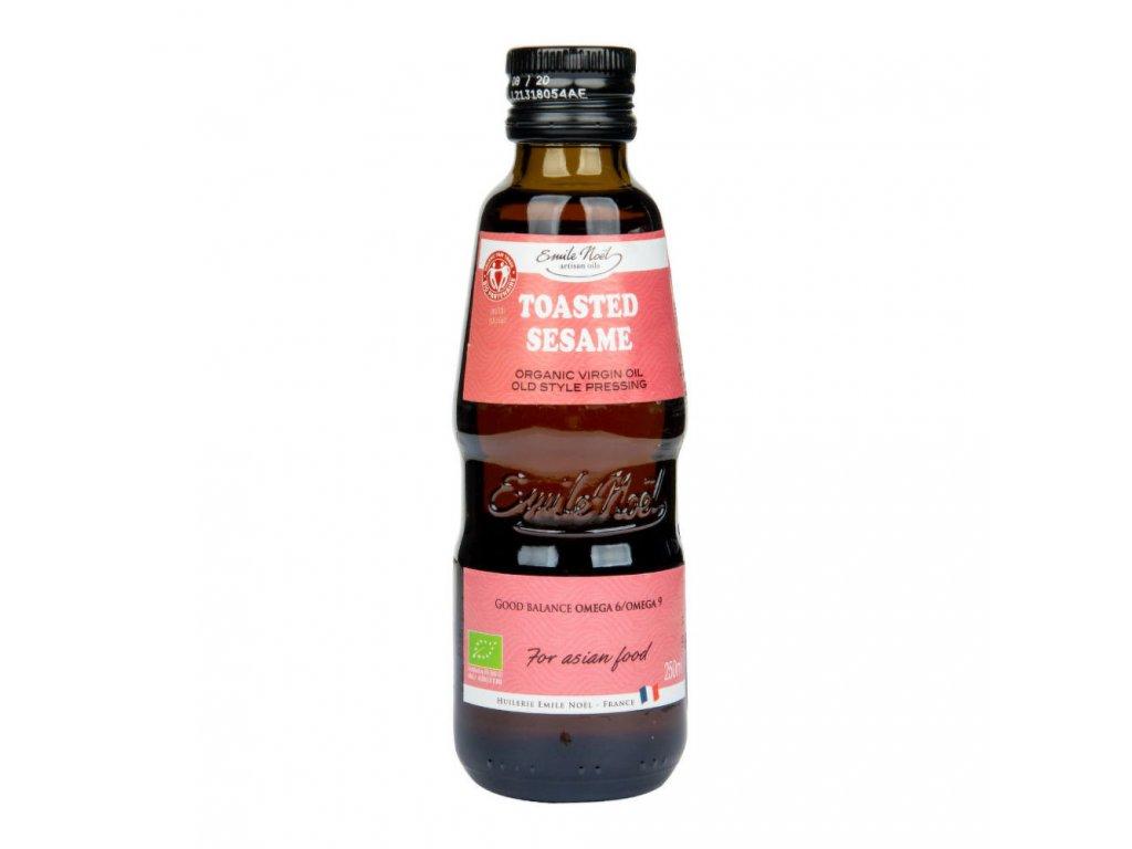 Olej z praženého sezamu EMILE NOËL BIO 250 ml
