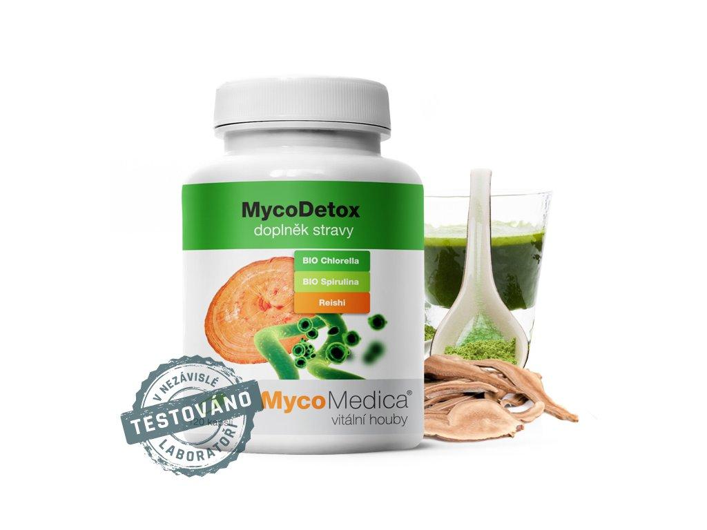MycoDetox /vegan kapsle 120x420mg MycoMedica