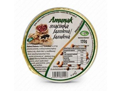 Svačinka fazolová 120 g AMUNAK