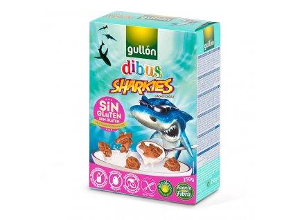 Bezlepkové sušenky Sharkies GULLON 250 g