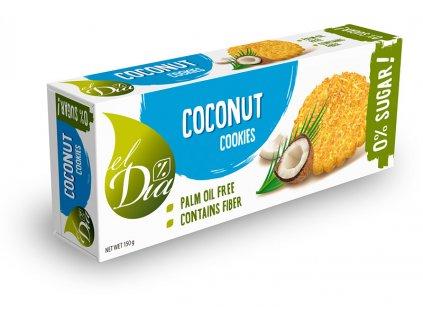 Cookies kokosové bez cukru el Dia 150 g