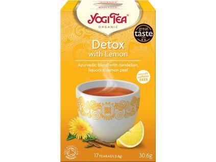 Detox s citrónem Yogi Tea 17x1,8 g BIO