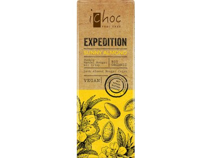 Sunny Almond Expedition iChoc 50 g BIO