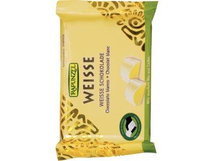 Bílá čokoláda RAPUNZEL 100 g BIO