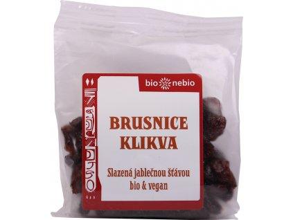 Brusnice klikva s jablečnou šťávou bio*nebio 75 g BIO