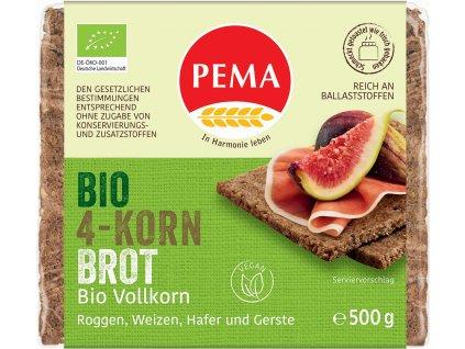 Vícezrnný chléb PEMA 500 g BIO