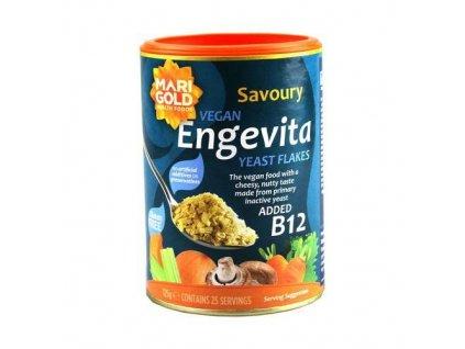 Engevita Lahůdkové droždí s B12 Marigold 125 g VEGAN
