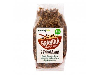 Granola - Křupavé müsli s čokoládou COUNTRY LIFE BIO 350 g