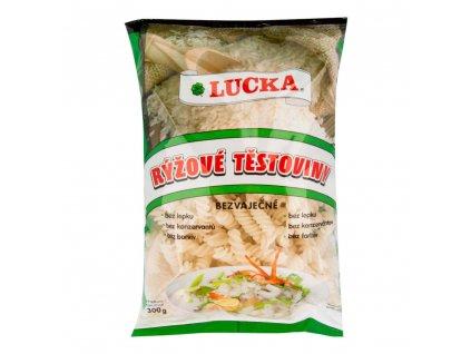 Těstoviny vřetena rýžové bezlepkové LUCKA 300 g