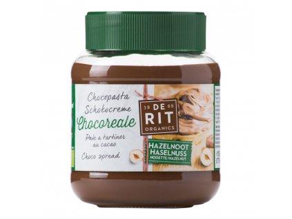 Pomazánka lískovo-kakaová CHOCOREALE BIO 350 g