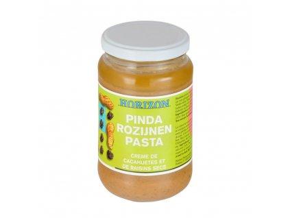 Krém arašídový s rozinkami HORIZON BIO 350 g