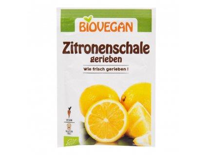 Citronová kůra strouhaná BIOVEGAN BIO 9 g