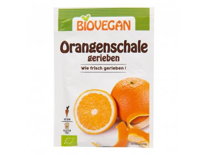 Pomerančová kůra strouhaná BIOVEGAN BIO 9 g