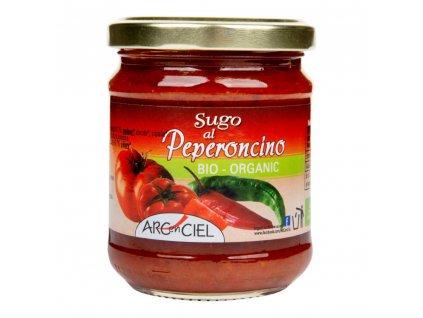 Omáčka rajčatová s chilli ARC EN CIEL BIO 190 g