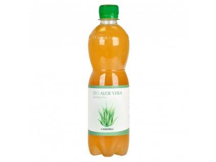 Kombucha Aloe Vera s meduňkou STEVIKOM BIO 500 ml