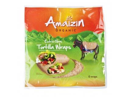 Tortilly s vlákninou AMAIZIN BIO 240 g