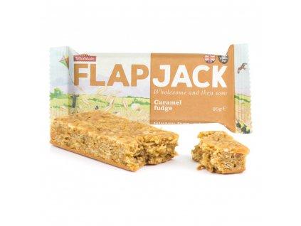 Flapjack ovesný karamel bezlepkový WHOLEBAKE 80 g
