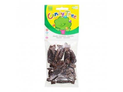 Karamely kakaové bezlepkové CANDY TREE BIO 75 g