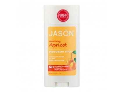 Deodorant tuhý meruňka JASON 71 g