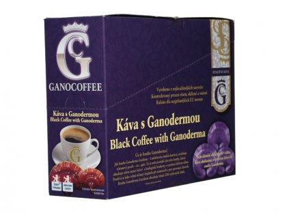 Káva černá s Ganodermou 20x3,5 g