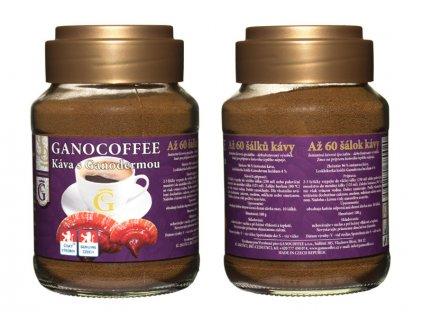 Káva černá s Ganodermou 100 g