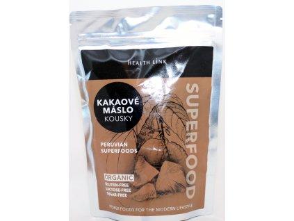 BIO RAW kakaové máslo 250 g HEALTH LINK