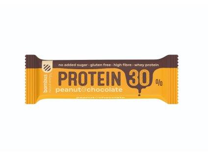 BOMBUS Protein 30% Peanut&Chocolate 50 g