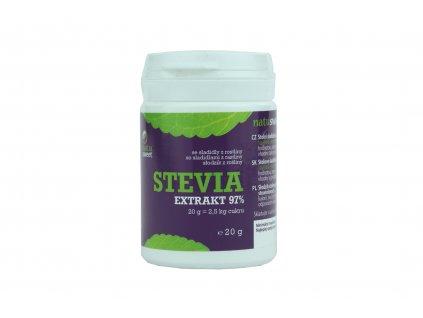 Stevia extrakt 97% Natusweet 20 g