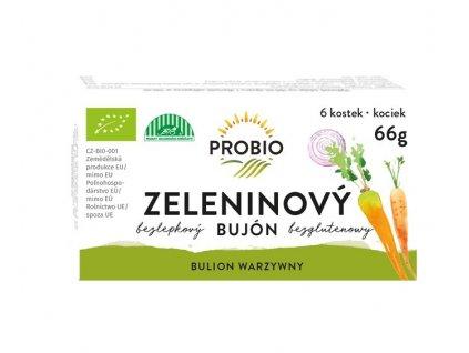 Bujón zeleninový - kostky 6x0,5 l PROBIO BIO 66 g