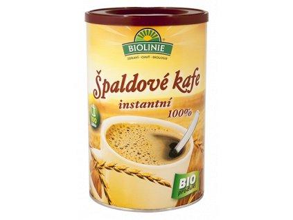 Kafe špaldové Instantní 100% BIOLINIE BIO 200 g