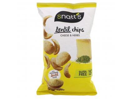 Lentil chips - sýr, bylinky 85 g