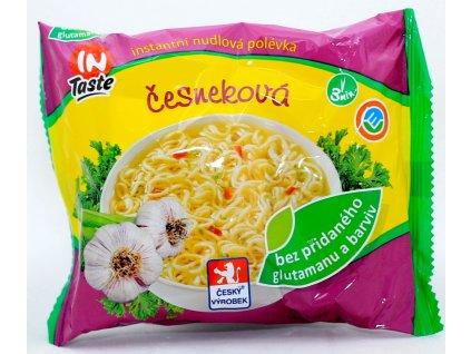 Polévka nudlová česneková 60 g IN TASTE