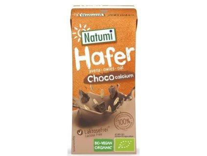 Nápoj ovesný čokoláda + Ca 200 ml BIO NATUMI