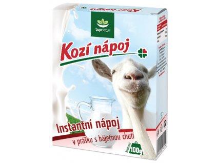Kozí mléčný nápoj v prášku 100 g TOPNATUR