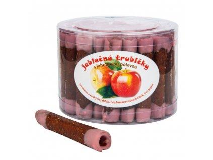 Trubičky jablečné s jahodovým jogurtem dóza bezl. 540 g TRUTNA