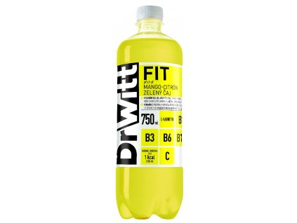 Dr WITT FIT Mango-citron-zelený čaj 0,75 l PET