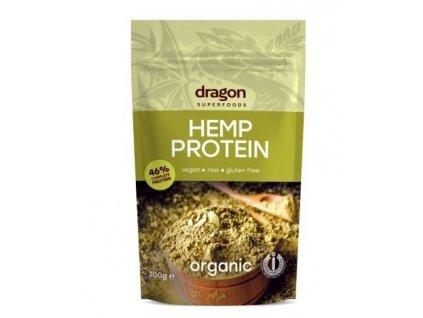 Dragon BIO RAW Konopný protein 200 g
