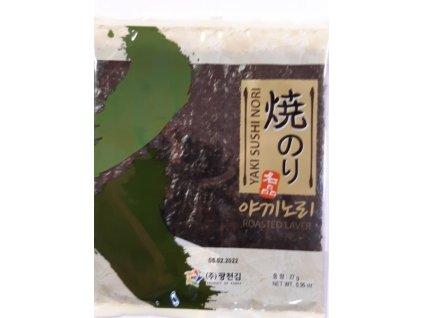 Mořské řasy Sushi Nori YAKI 27 g