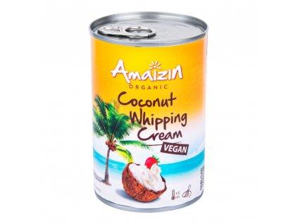 Kokosová alternativa smetany ke šlehání 30 % tuku 400 ml BIO AMAIZIN