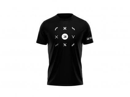 FS triko ikony p blk front