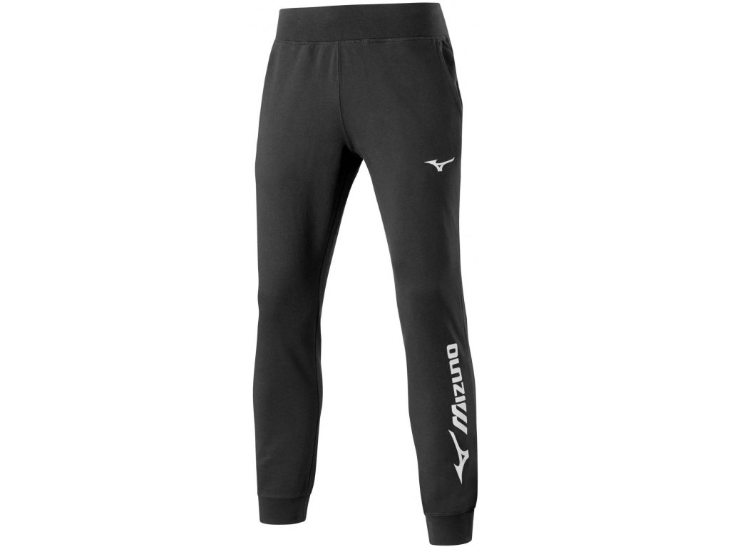 mizuno terry pant black