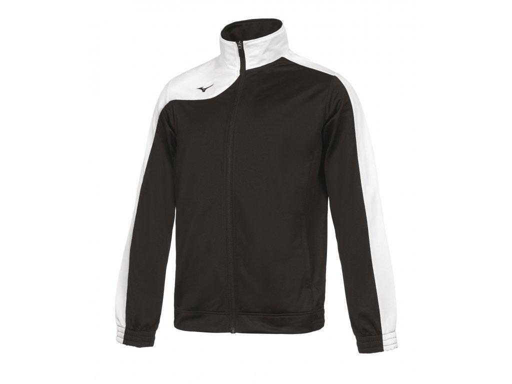 Tepláková bunda Mizuno Knitted Tracksuit/Black/White