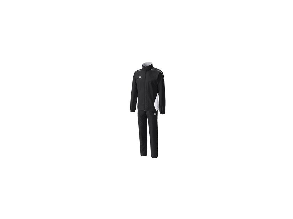 woven tracksuit 401 black white