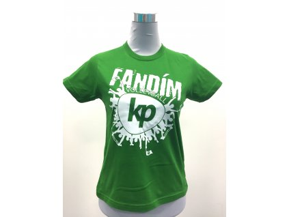 Tričko KP FANS zelené 2020